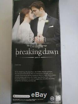 NEW Barbie Collector Twilight Saga Breaking Dawn Bella Wedding Dress Doll Pink