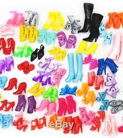 NEW Barbie Doll Shoes-Lot of 20 Pairs Asstd. SHIPS TODAY! USA