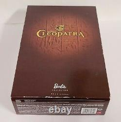 NEW! Barbie as Cleopatra Doll 2010 Gold Label Barbie Collector NIB- box not mint