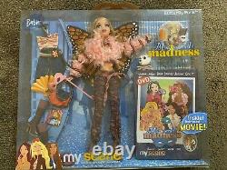 NEW My Scene Masquerade Madness Butterfly Punk BARBIE LOTS OF ITEMS EXTRA OUTFIT