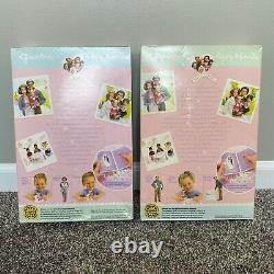 NIB Lot Of 2 Barbie Happy Family Neighborhood Grandma & Grandpa 2003 RARE HTF