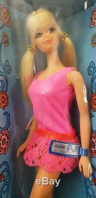 NRFB Vintage Mattel Barbie 1969-1970 P. J. TNT Original Box, Genuine Tag MINT