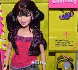 Nib-2005 Lot/set Of 4-barbie Diaries Dolls, Courtney, Raquelle, Tia -accessories