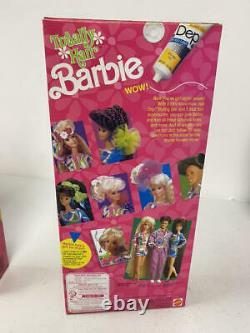 Nrfb Totally Hair Brunette Barbie And Ken Doll Lot 1117 1118