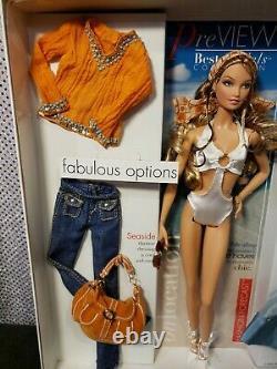 On Location South Beach Top Model Barbie Doll Model Muse Mattel J0943 Mint Nrfb