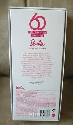 Proudly Pink Silkstone. Barbie Nrfb. 60th Anniversary Mint Box