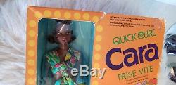 Quick Curl CARA Barbie Doll in nr Mint Box Vintage 1970's 1974 Rare PLEASE READ