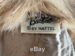 RARE Barbie The Genuine Mink Stole 1964 Sears Exclusive Near Mint
