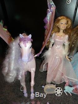 RARE Barbie and the Magic of Pegasus Lot Dolls, Ornament, Shirt, Books, & More