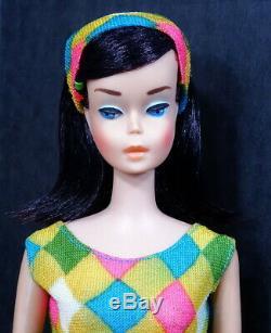 RARE! Vintage Midnight Medium COLOR Color Magic Barbie Doll Stunning! MINT