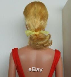 RARE near mint Blonde SWIRL 1964 Barbie Vintage Ponytail
