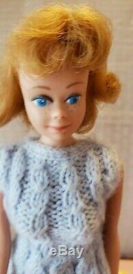 Rare Vintage Barbie Lot 3 Barbie's Case Misc Lot of Clothes