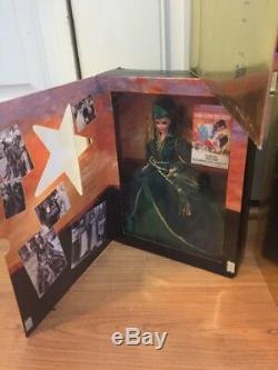 Set of 5 Gone With the Wind Barbie Ken Dolls Hollywood Legends Scarlet Rhett new