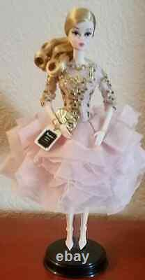 Silkstone Blush and Gold Cocktail Dress Mint and Complete NO BOX