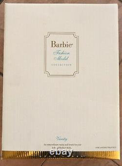 Silkstone New Barbie Fashion Model Vanity And Bench Gold Label MINT-NRFB
