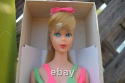 Standard Barbie Mint With Lovely Box Mib 1969 Era