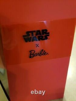 Star Wars Darth Vader X Barbie Doll Model Muse Gold Label Mattel #ght80 Nrfb