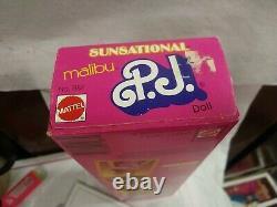 Sunsational Malibu PJ Doll Steffie Face Mattel #1187 NRFB RARE VHTF -MINT BOX