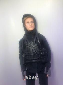 The Hunger Games Black Label Barbie Collector P. 2 LOT OF 3 Katniss-Peta-Fin