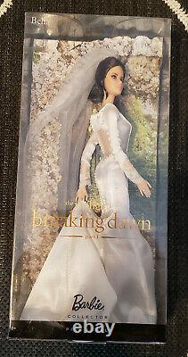 The Twilight Saga Breaking Dawn Bella Swan Wedding Dress Barbie NRFB