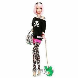 Tokidoki Barbie-pink Hair-t7939-2011-only 7400-gold Label-#1 In Series-nrfb-mint