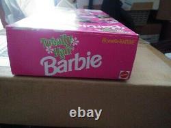 Totally Hair Brunette Barbie Doll #1117 Dep Hair Gel Vintage NRFB 1991 BY MATTEL