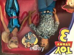 Toy Story 3 MADE FOR EACH OTHER BARBIE & KEN NEW! Disney Pixar Mattel 2009