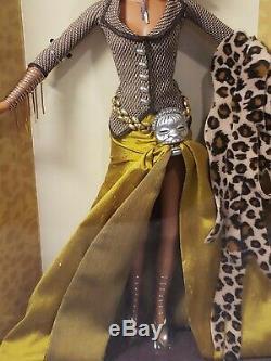 Treasures Of Africa Tatu Barbie Doll Byron Lars 2002 Mattel #b2018 Mint Nrfb