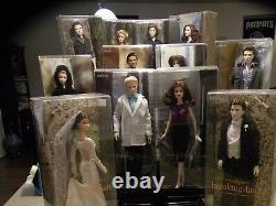 Twilight dolls / Barbies large lot 12 dolls. NIB Recently Reduced 20 percent
