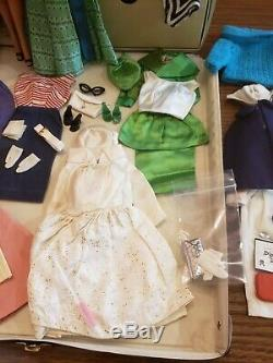 VINTAGE BARBIE CASE CLOTHES DOLL ACCESSORIES MIXED LOT Garden Wedding Nurse