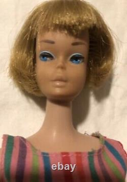 VINTAGE Barbie AMERICAN GIRL Lot Plus BEND LEG MIDGE In Original Box. 6 Dolls