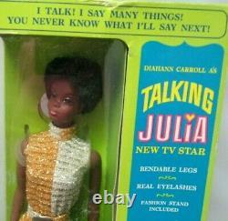 Very Rare Nib 1969 Talking Juliacomplete+mintwrist Tag+outfittalk Ringnrfb