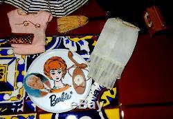 Vintage 1958 Ponytail Barbie # 1 Raven Hair