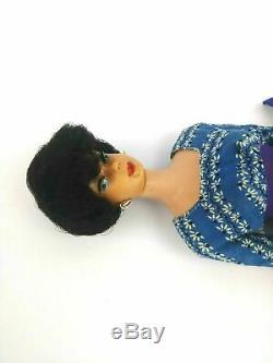 Vintage 1960's Vintage Brunette Ponytail Barbie with 1960 Brunette Bubble cut Lot
