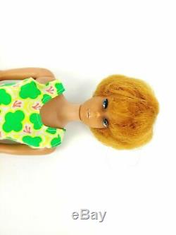 Vintage 1960s Bubble Cut Barbie Lot with Vintage Skipper Doll and Clothing Lot
