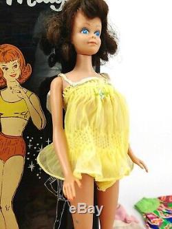 Vintage 1960s Redhead Titan Bubble Cut Barbie Doll with Vintage Midge Doll Lot