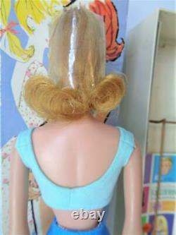 Vintage 1962 Blonde Midge Barbie Doll Mint in Box with Wrist Tag Head Cello