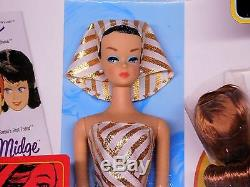 Vintage 1963 FASHION QUEEN My Favorites Barbie Reproduction Wig Wardrobe NRFB