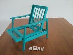 Vintage 1964 Mattel Barbie GO TOGETHER LIVING ROOM Furniture Set Turquoise