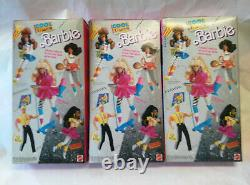 Vintage 1988 Cool Times Barbie, Christie & Teresa Dolls with Accessories NIB