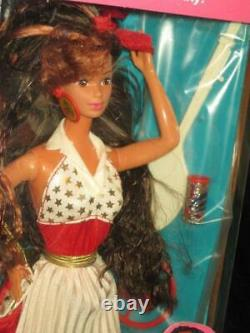 Vintage 1989 Barbie And The ALL STARS TERESA Long Red Hair Doll 9353 NRFB