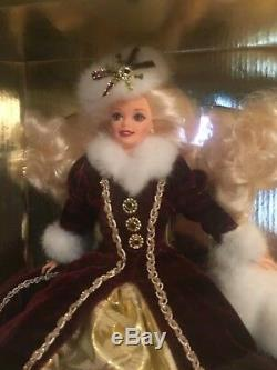 Vintage 1996 Special Edition Happy Holidays Barbie Collector's MINT NRFB
