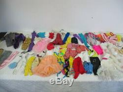 Vintage 80's Barbie Dolls (25) Lot Super Star- Rockers- Ken- Clothes- More