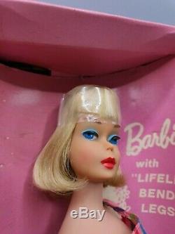 Vintage American Girl Barbie High Color Long Hair Pale Blonde #1070 Mint in Box