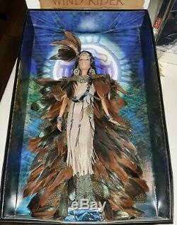 Vintage BARBIE Doll WIND RIDER NIB GOLD LABEL! Near Mint Native American
