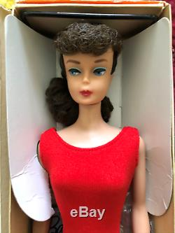 Vintage Barbie Brunette Ponytail NM/MINT And Gorgeous