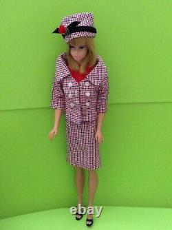 Vintage Barbie Japanese Exclusive Career Girl Variation Rare outfit 1960s NoDoll