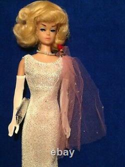 Vintage Barbie Japanese Exclusive shimmering dress, 1960s