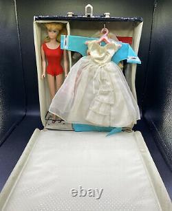 Vintage Barbie Lot 1960s Doll Case Shoes Clothes Accessories Bride Belt Purse