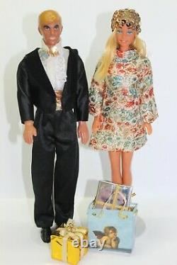 Vintage Barbie Malibu & Malibu Ken 1978 Happy Hoilday Lot 70er